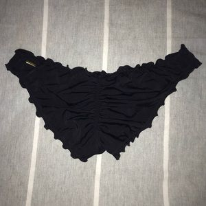 VS Victoria's Secret Swim Cheeky Ruffle Ruched
